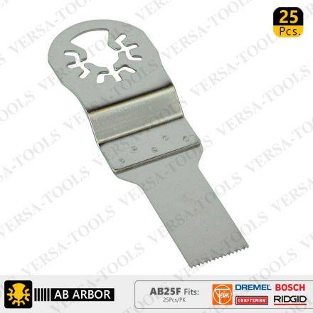 Versa Tool AB25F 20mm Stainless Steel Multi-Tool Saw Blades 25/Pk Fits Fein Multimaster, Dremel, Bosch, Craftsman, Ridgid Oscillating Tools