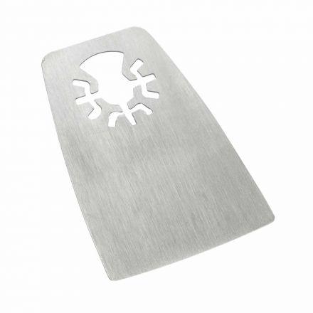 Versa Tool DB1N 52mm Flat Cut Stainless Steel Scraper Fits Fein Multimaster, Dremel, Bosch, Craftsman, Ridgid Oscillating Tools