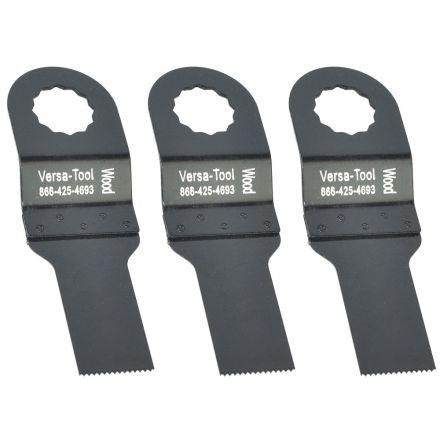 Versa Tool FB3F-D 20mm Stainless Steel Multi-Tool Saw 3 Blade Pack Fits Fein Supercut Oscillating Tools