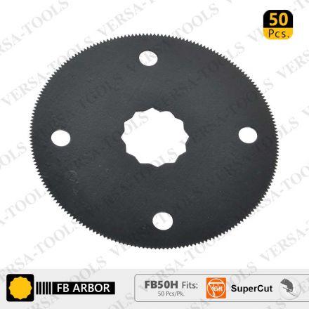 Versa Tool FB50H 80mm HSS Circular Multi-Tool Saw Blades 50/Pack Fits Fein Supercut Oscillating Tools