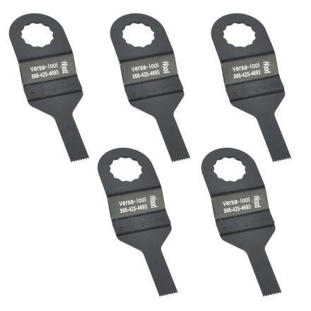 Versa Tool FB5G 10mm Stainless Steel Multi-Tool Saw Blades 5/Pack Fits Fein Supercut Oscillating Tools