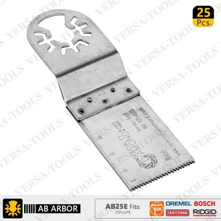 Versa Tool AB1E 30mm Stainless Steel Saw Blade Compatible with Fein Multimaster, Dremel, Bosch, Craftsman, Ridgid Oscillating Tools