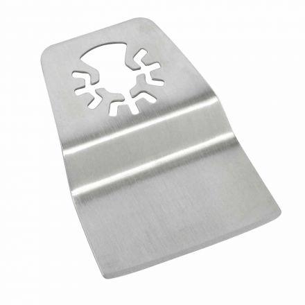 Versa Tool DB1M 52mm Flush Cut (8mm Offset Mount) Stainless Steel Scraper Fits Fein Multimaster, Dremel, Bosch, Craftsman, Ridgid Oscillating Tools