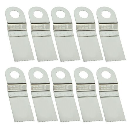 Versa Tool SB10E 30mm Stainless Steel Multi-Tool Saw Blades 10/Pack Fits Fein Multimaster, Rockwell, Sonicrafter, Makita Oscillating Tools