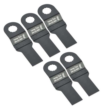 Versa Tool SB5F 20mm Stainless Steel Multi-Tool Saw Blades 5/Pack Fits Fein Multimaster, Rockwell, Sonicrafter, Makita Oscillating Tools